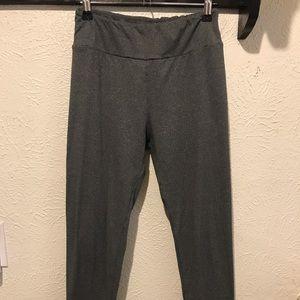 Lularoe One Size heather grey leggings-